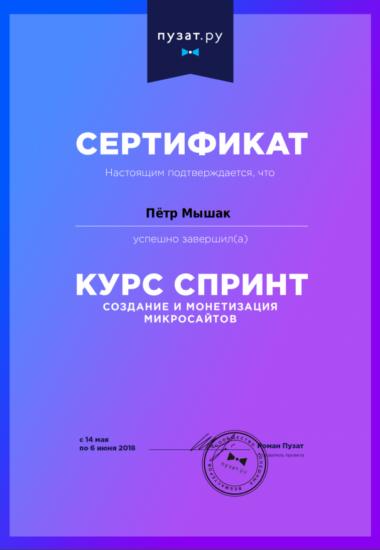 Курс Спринт